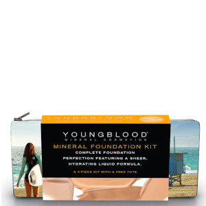 Youngblood Foundation Kit with California Bikini Bag - Liquid Sun Kissed