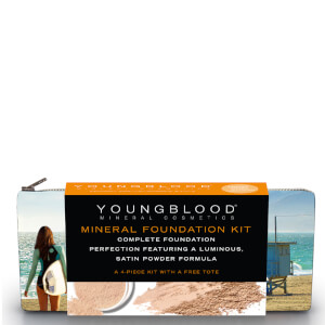 Youngblood Foundation Kit with California Bikini Bag - Loose Honey