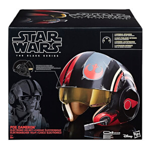 Star Wars: The Last Jedi Poe Dameron The Black Series 1:1 Scale Wearable Electronic Helmet