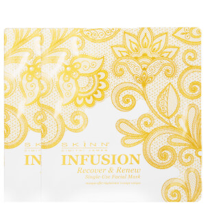Skinn Cosmetics Infusion Recover & Renew Single-Use Facial Mask