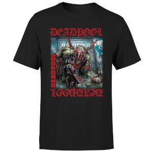 Marvel Deadpool Here Lies Deadpool T-Shirt - Black