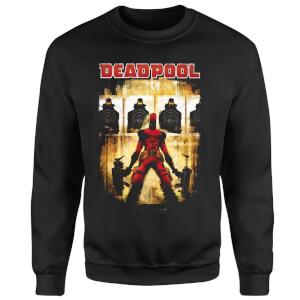 Marvel Deadpool Target Practice Sweatshirt - Black