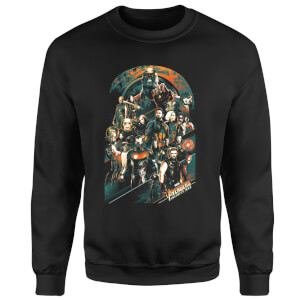 Sweat Homme Avengers Infinity War ( Marvel) Avengers Team - Noir