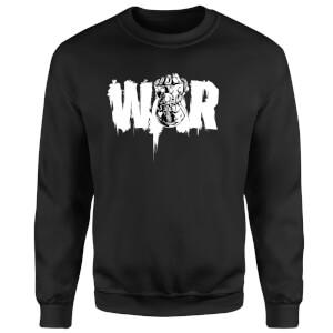 Marvel Avengers Infinity War War Fist Sweatshirt - Black