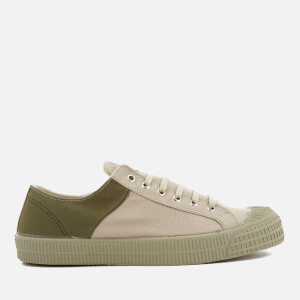 Novesta X Universal Works Men's Star Master Two-Tone Trainers - Platan/Military
