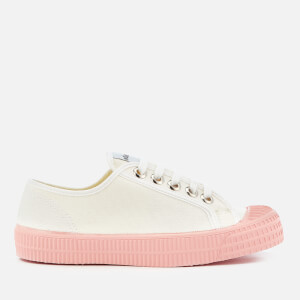 Novesta Women's Star Master Colour Sole Trainers - White/Pink