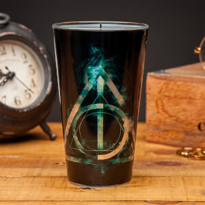 Harry Potter Deathly Hallows Glass from I Want One Of Those