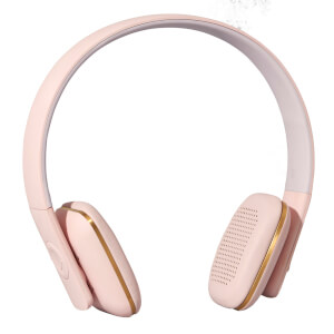Kreafunk aHEAD Bluetooth Headphones - Dusty Pink