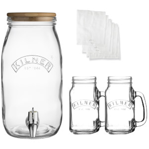 Kilner Kombucha Drinks Set