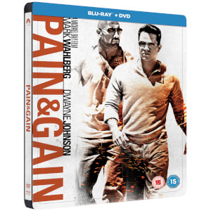 Pain & Gain - Zavvi UK Exclusive Limited Edition Steelbook