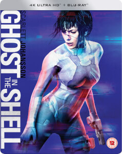 Ghost in the Shell: el alma de la máquina - 4K Ultra HD - Steelbook Edición Limitada Exclusiva de Zavvi