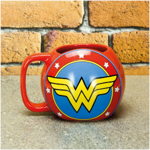 Taza escudo Wonder Woman - DC Comics