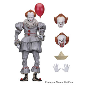IT Ultimate Action Figure - Pennywise (2017 Movie Version)