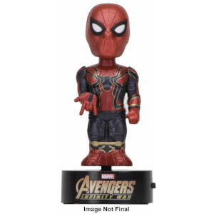NECA The Avengers Infinity War Wackelfigur - Spider-Man