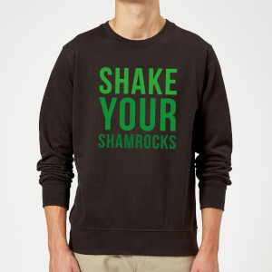 Shake Your Shamrocks Sweatshirt - Black