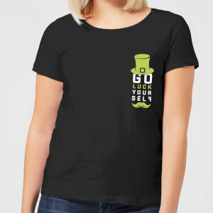 Go Luck Yourself Women's T-Shirt - Black