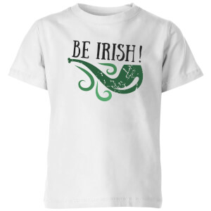 Be Irish Kids' T-Shirt - White