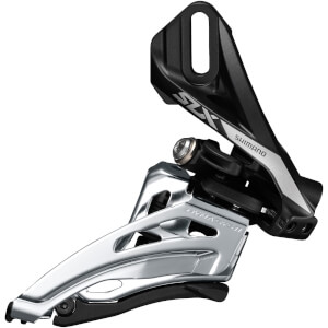 Shimano SLX M7020 Double 11-Speed Front Derailleur - Side Swing - Front Pull