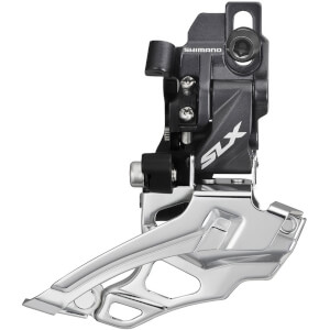 Shimano FD-M676 SLX 10-Speed Double Front Derailleur - Top-Pull - Direct-Fit