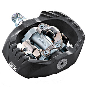 Shimano PD-M647 MTB SPD Pedals - Pop-Up Mechanism