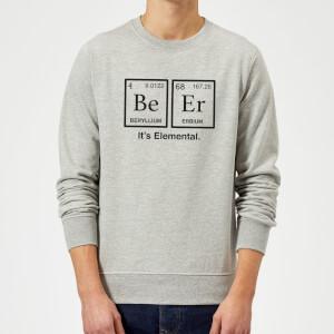 Be Er It's Elemental Sweatshirt - Grey