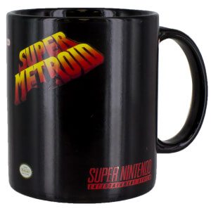 Taza termosensible Super Metroid