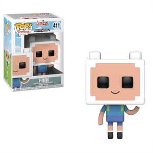 Adventure Time x Minecraft Finn Figura Pop! Vinyl