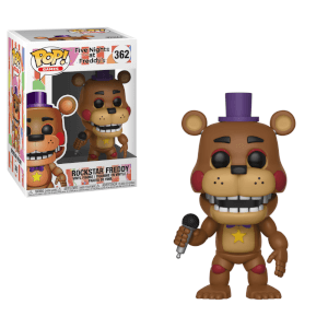 Five Nights at Freddy's Pizza Simulator - Rockstar Freddy Pop! Vinyl Figur
