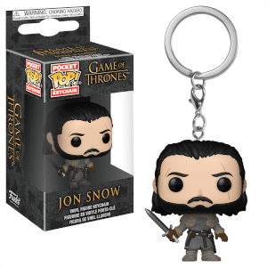 Game of Thrones Jon Snow Beyond the Wall Pop! Vinyl Keychain