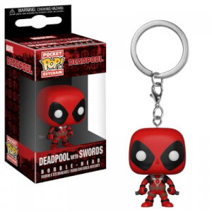Deadpool Playtime Deadpool with Sword Pop! Vinyl Keychain