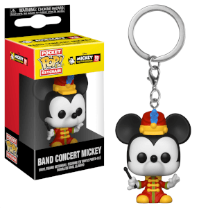 Disney Mickey's 90th Band Concert Mickey Pop! Vinyl Keychain