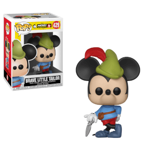 Disney - Topolino Brave Little Tailor Figura Pop! Vinyl