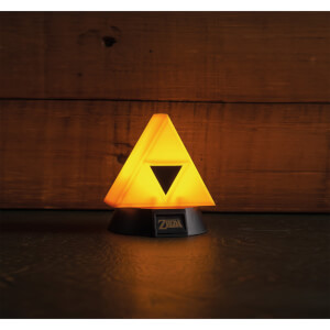 The Legend of Zelda Triforce 3D-lamp