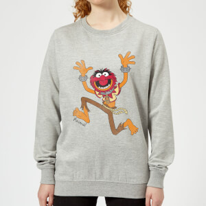 Sweat Femme Muppets Animal Disney - Gris