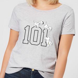 Camiseta Disney 101 Dálmatas 101 - Mujer - Gris