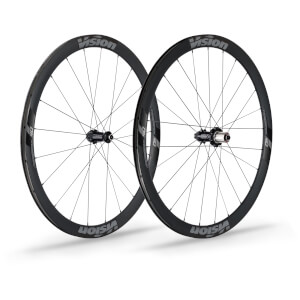 Vision Trimax 40 Carbon Clincher Disc Wheelset