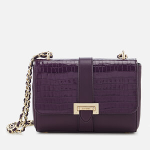 Aspinal of London Women's Lottie Bag - Amethyst