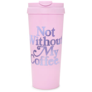 Ban.do Hot Stuff Thermal Mug - Not Without My Coffee