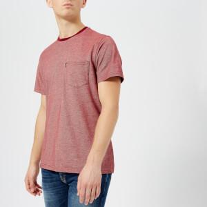Barbour Men's Pontoon Pocket T-Shirt - Biking Red