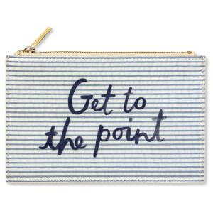 Kate Spade Pencil Pouch and Stationery Set - Seersucker