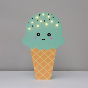 Smiling Faces Up in Lights - Mint Ice Cream