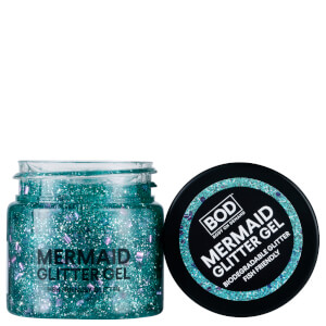 BOD Mermaid Body gel glitter corpo - blu