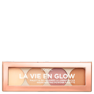 L'Oréal Paris La Vie En Glow Highlighting Powder Palette - Warm Glow 10g