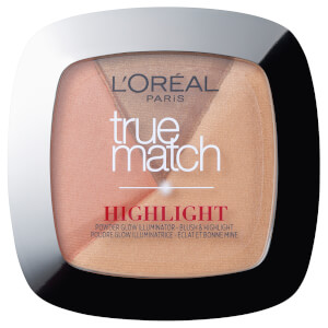 Iluminador radiante en polvo True Match de L'Oréal Paris - Golden Glow 9 g