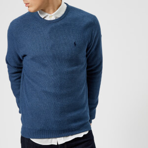 Polo Ralph Lauren Men's Pima Cotton Crew Neck Sweater - Blue