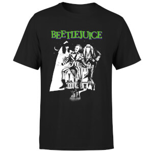 Beetlejuice Mono Poster T-Shirt - Schwarz