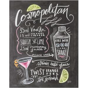 Lily & Val Cosmopolitan Print