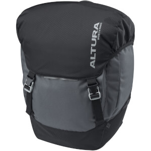 Altura Dryline 2 56L Pannier - Grey/Black (Pair)