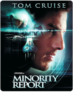 Minority Report - Steelbook Edición Limitada Exclusivo de Zavvi