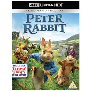 Peter Rabbit - 4K Ultra HD and Blu-ray (2 Discs)
